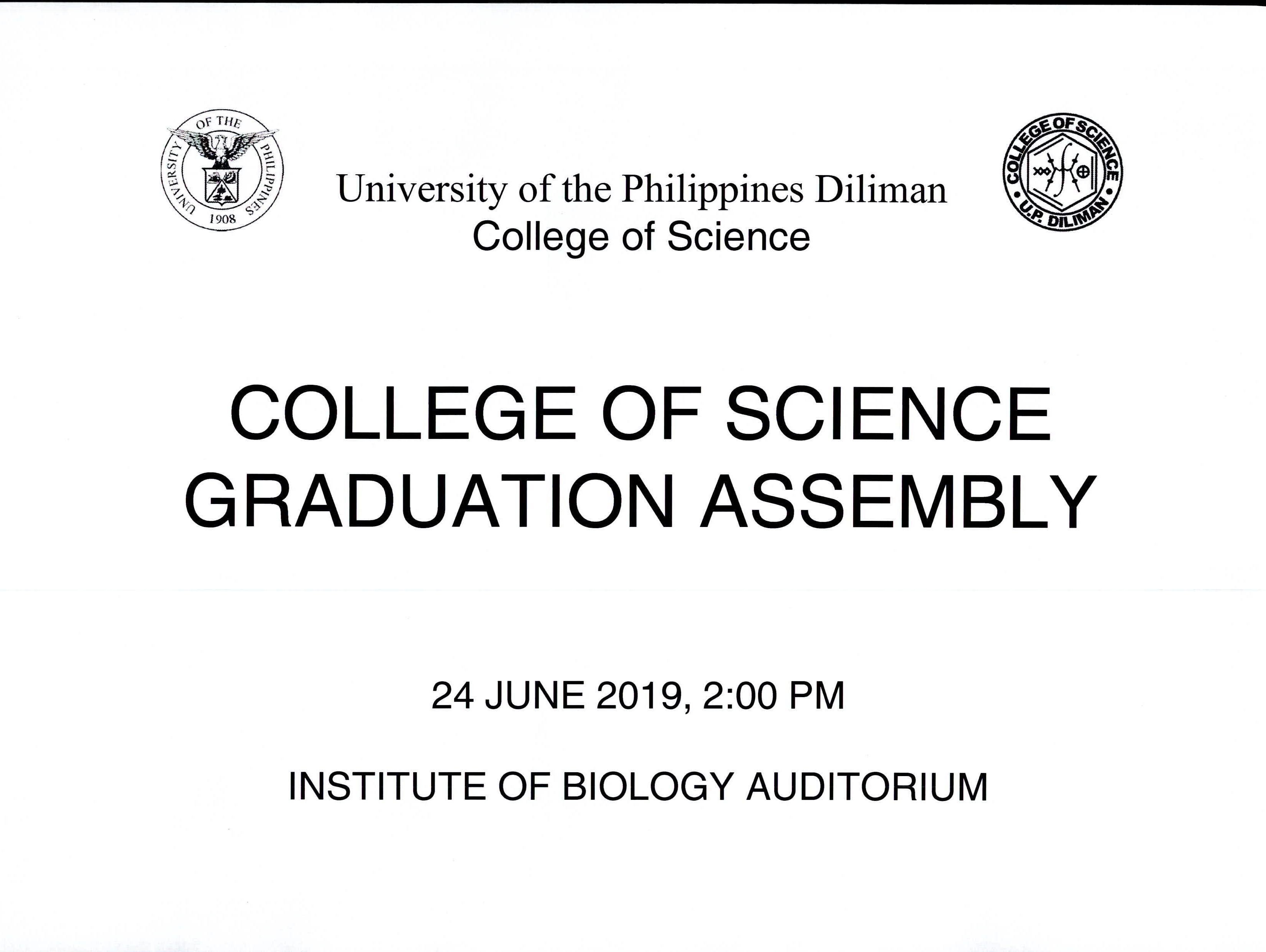 Graduation Assembly 2